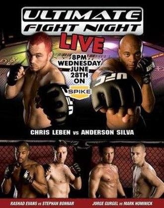 UFC Ultimate Fight Night 5 - Image: UFC UFN5 poster