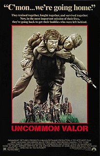 <i>Uncommon Valor</i> 1983 film by Ted Kotcheff