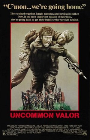 Uncommon Valor - Theatrical release poster