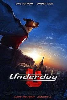 <i>Underdog</i> (2007 film) 2007 film based on animated series directed by Frederik Du Chau