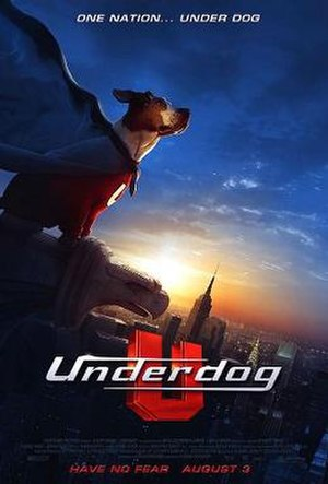 Underdog (film) - Theatrical release poster