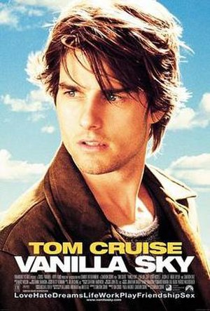 Vanilla Sky - Theatrical release poster