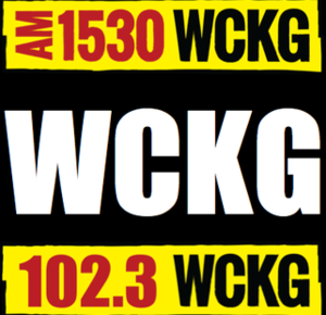 WCKG - Image: WCKG 1530 102.3 logo
