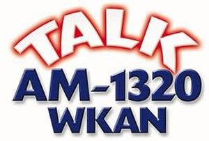 WKAN - WKAN previous logo