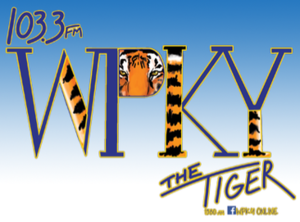 WPKY - Image: WPKY 103.3The Tiger 1580 logo