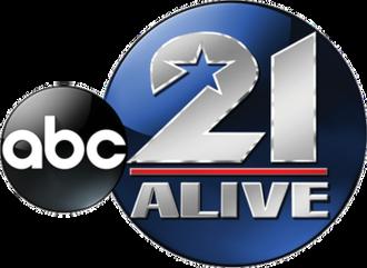 """WPTA - WPTA's """"21 Alive"""" logo until November 7, 2016."""