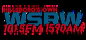 WSRW (AM) - Image: WSRW 101.5FM 1590AM logo