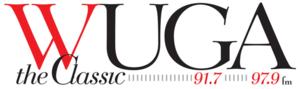 WUGA (FM) - WUGA logo