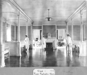 The Henry Phipps Psychiatric Clinic - The interior of the Phipps Clinic