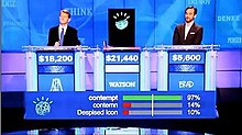 ken jennings watson and brad rutter in their jeopardy exhibition match