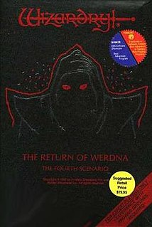 <i>Wizardry IV: The Return of Werdna</i> 1987 video game
