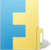 The original Windows Live FolderShare logo