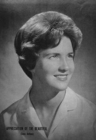 Elaine Anthony - Image: Yearbook photo of Elaine Anthony