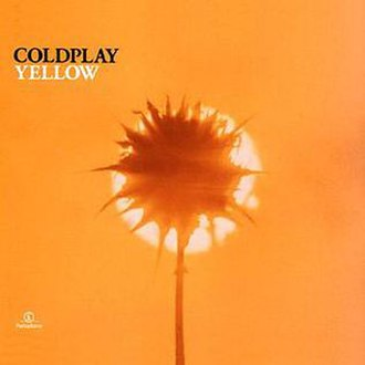 Yellow (Coldplay song) - Image: Yellow cover art