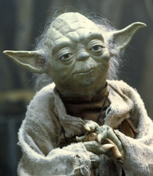 Yoda - Yoda in The Empire Strikes Back
