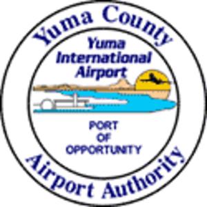 Yuma International Airport - Image: Yuma International Airport (emblem)