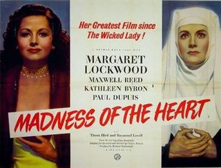 <i>Madness of the Heart</i> 1949 film by Charles Bennett