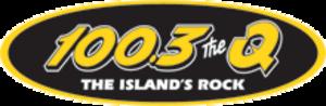 CKKQ-FM - Image: 100 3 The Q! logo wiki
