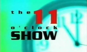 The 11 O'Clock Show - Image: 11oclockshow logo