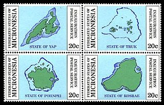 Postage stamps and postal history of the Federated States of Micronesia