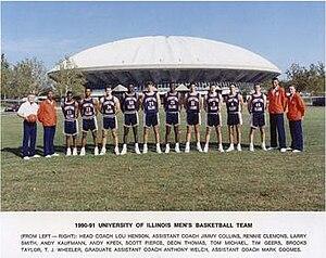 """1990–91 Illinois Fighting Illini men's basketball team - """"1990-91 Fighting Illini men's basketball team"""""""