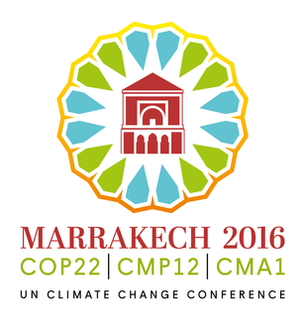 2016 United Nations Climate Change Conference international climate change conference in Marrakech, Morocco in November 2016