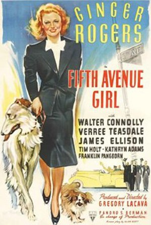 5th Ave Girl - Theatrical release poster