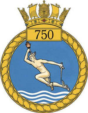 750 Naval Air Squadron - 750 NAS Badge