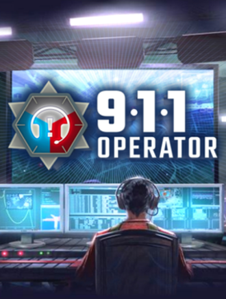 911 Operator (video game) - Logo and artwork for the game.