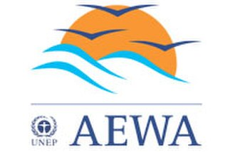 Agreement on the Conservation of African-Eurasian Migratory Waterbirds - Official Logo