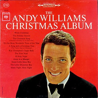 The Andy Williams Christmas Album - Image: Album The Andy Williams Christmas Album cover