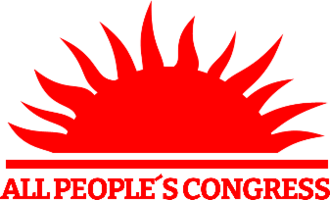 All People's Congress - Image: All People's Congress logo