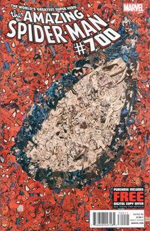 Dying Wish - Image: Amazing Spider Man 700