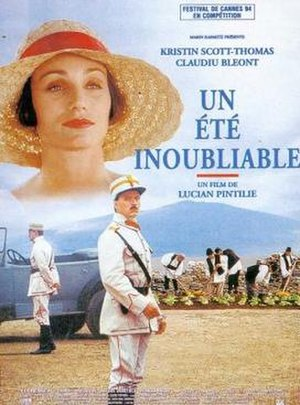 An Unforgettable Summer - Poster of the film in its French version