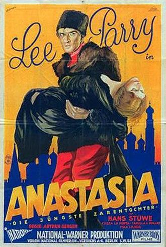Anastasia, the False Czar's Daughter - Image: Anastasia, the False Czar's Daughter