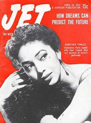 Dorothea Church - Dorothea Church on the cover of the April 16, 1953 issue of JET magazine
