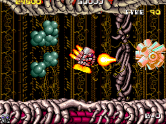 Atomic Robo-Kid - Screenshot