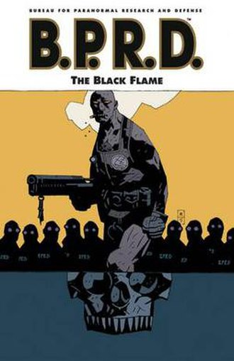 B.P.R.D.: The Black Flame - Trade Paperback Cover
