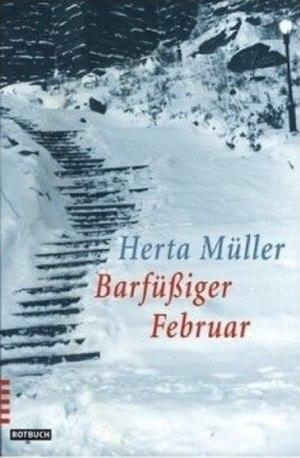 Barfüßiger Februar - Front cover