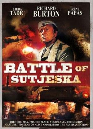 Battle of Sutjeska (film) - Image: Battle of Sutjeska poster