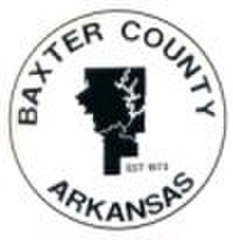Baxter County, Arkansas - Image: Baxter County, AR Seal