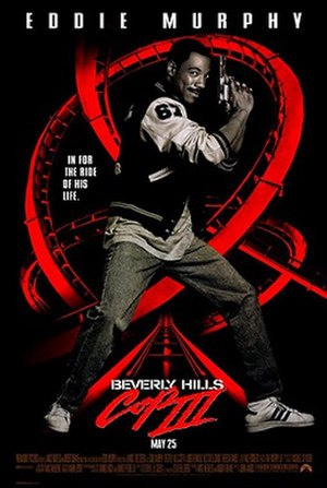Beverly Hills Cop III - Theatrical release poster