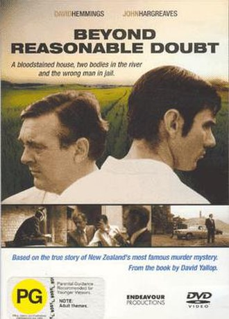 Beyond Reasonable Doubt (1982 film) - DVD cover