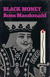 <i>Black Money</i> novel by Ross Macdonald