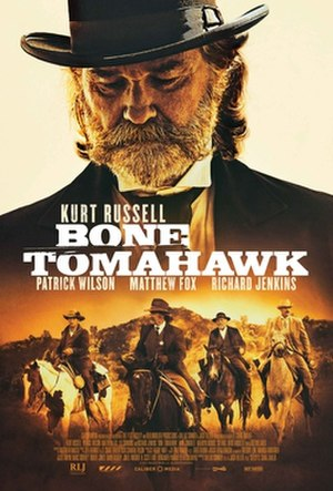 Bone Tomahawk - Theatrical release poster