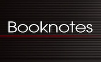Booknotes - Image: Booknotes logo C SPAN 200