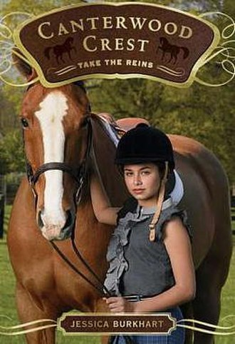 Canterwood Crest - Cover of Take the Reins, the first novel in the series