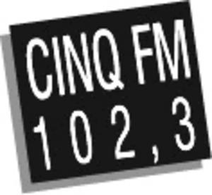 CINQ-FM - Image: CINQ FM logo