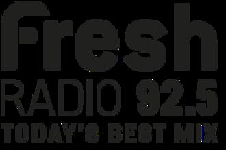 CKNG-FM - Image: CKNG fresh Radio 92.5 logo