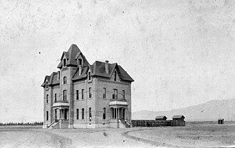 Chaffey High School - Chaffey College of Agriculture, 1885.